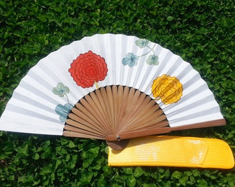 Asian Hand Fan On Etsy A Global Handmade And Vintage