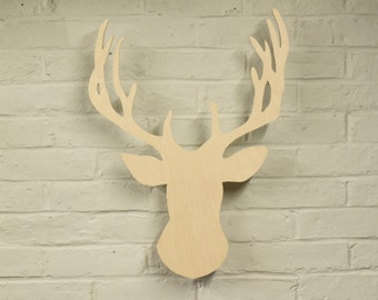 Floating Stag Head Wall Hanging