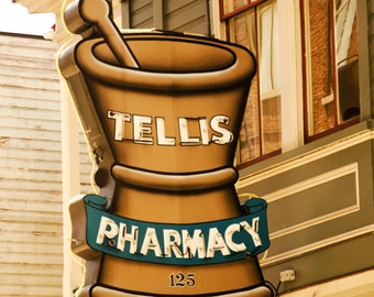 Tellis Pharmacy Sign, Charleston, SC