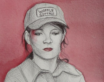 Mandy Milkovich Portrait (Shameless US Fan art)