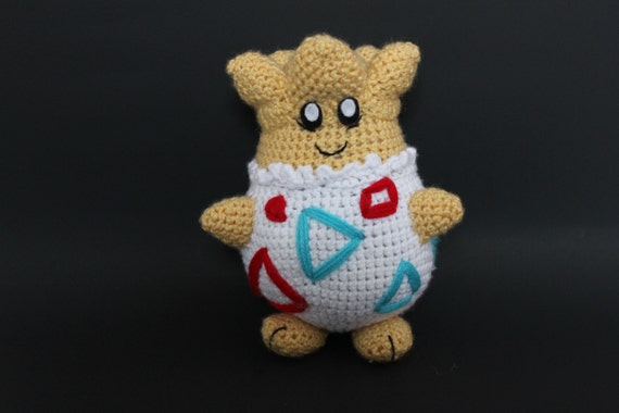 SALE! Crochet Togepi plush