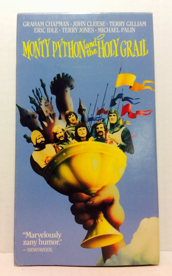 Monty Python And The Holy Grail Vintage By HAPPYHAPPYTOYSTOYS