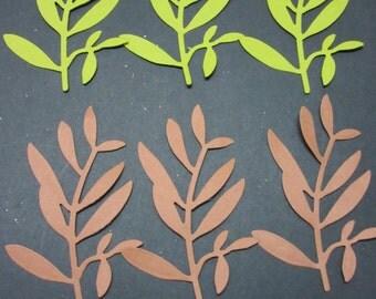 Leaf Die Cuts