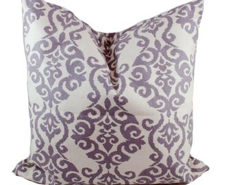 purple pillow cover purple throw pillow decorative pillows sofa pillows couch cushions