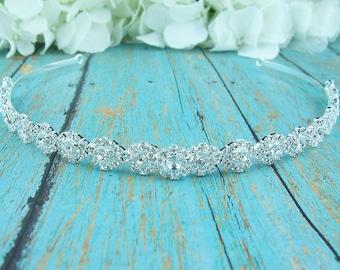 Rhinestone Crystal bridal headband headpiece, wedding headband, wedding headpiece, rhinestone tiara, rhinestone, crystal tiara 207869395