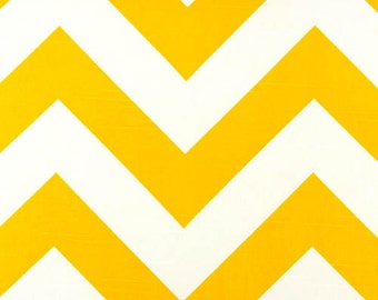 ZIPPY LARGE Chevron Premier Prints fabric By The Yard Aquarius Corn Yellow Slub-7 color choices decorator fabric By The Yard-Fast Shipping