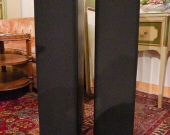 """Vintage Pair of Floor Mounted Klipsch SF-1  Black Speakers """"Pick Up Only"""""""