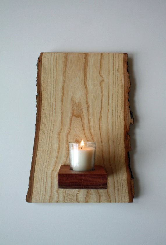 Wall Mounted Votive 2 Sconce & Candle Holder