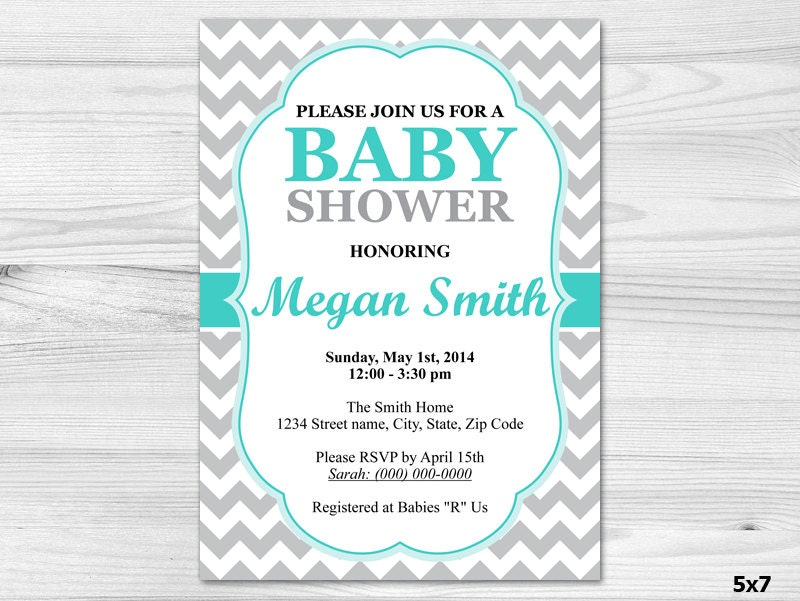 baby shower invitation diy printable custom invitation baby