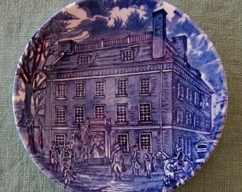 "Liberty Blue ""Historic Colonial Scenes"""