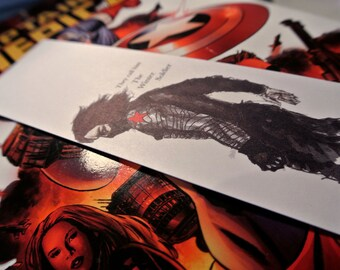 The Winter Soldier Bookmark