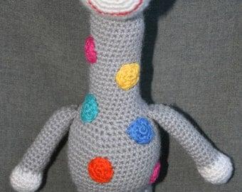 Crochet giraffe, stuffed giraffe, giraffe, Amigurumi giraffe