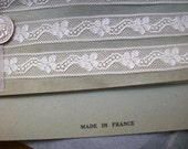 2 yds. of Antique lace french origin 1910