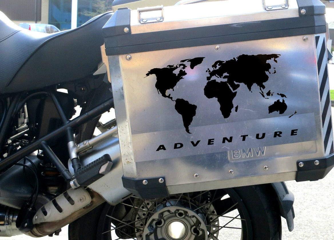 X Sticker For BMW Rgs Pannier Motorbike Decal F R - Bmw motorcycle custom stickers decals