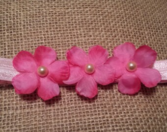 Petite Pink Newborn Headband