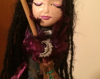 Hand Made Witch Doll
