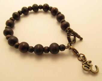 3809 - Yoga Om Bracelet