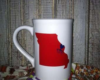 St.Louis, Missouri roots 15oz mug