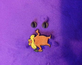 Lorax Hat Pin - Save The Trees