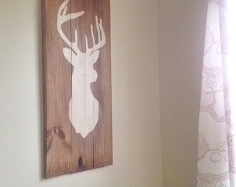 Rustic Deer wall decor