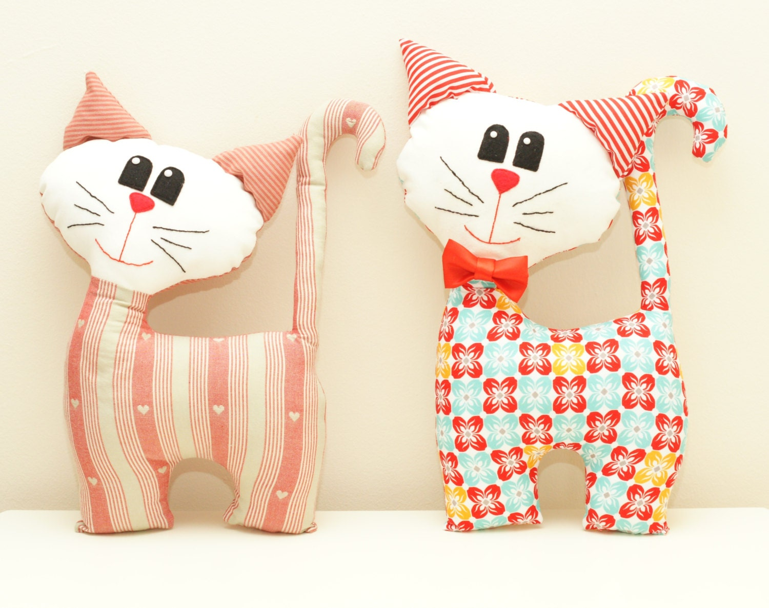 Cat Sewing Pattern Pdf Instant Download Plush Stuffed Toy