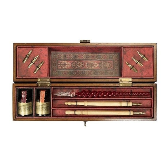 Complete Calligraphy Set Windsor Prose Includes Wood