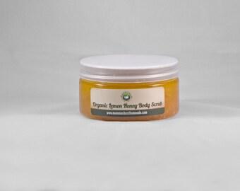 Body Scrub, Organic Skincare, Sugar Scrub, Natural Skincare, Skin Care Products, Honey, Exfoliating Scrub, Nature Lover Gift, Spa Gift Set