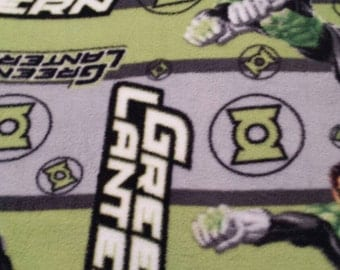 Green Lantern Fleece tie blanket 54 X 58