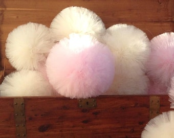 16 inch Tulle pompoms Party Decoration tulle pom pom