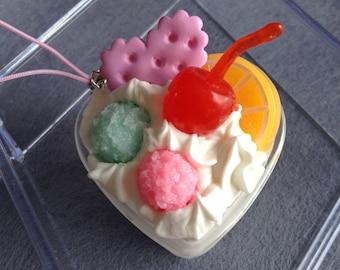 Sweet heart ice cream