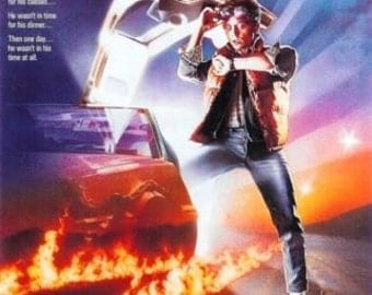 Back To The Future poster 11 x 17