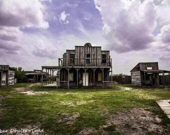 Ghost Town Texas Fine Art Print
