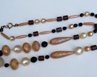 Edwardian beaded necklace