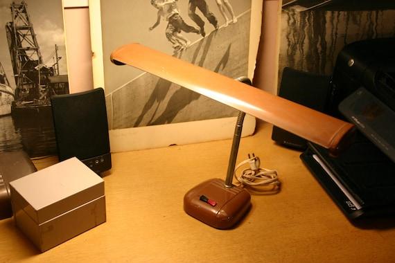 Small Industrial Desk Task Lamp Some Slight Wear Works Well