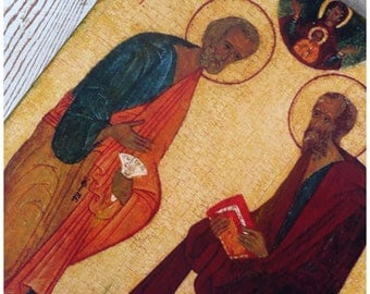"""The icon """"the Apostles Peter and Paul"""""""