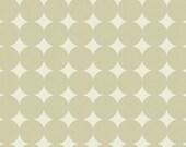 CLEARANCE - 1/2 Yard - Heather Bailey / TRUE COLORS / Mod Dot in Dove / Polka Dot / Free Spirit Fabrics
