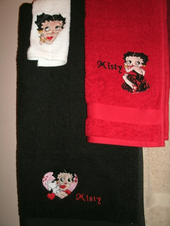 Betty Boop Bathroom Set. Betty Boop Bathroom Set Including ...