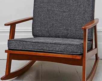 CUSTOM - You Pick the size - Mid Century Modern Chair Cushions