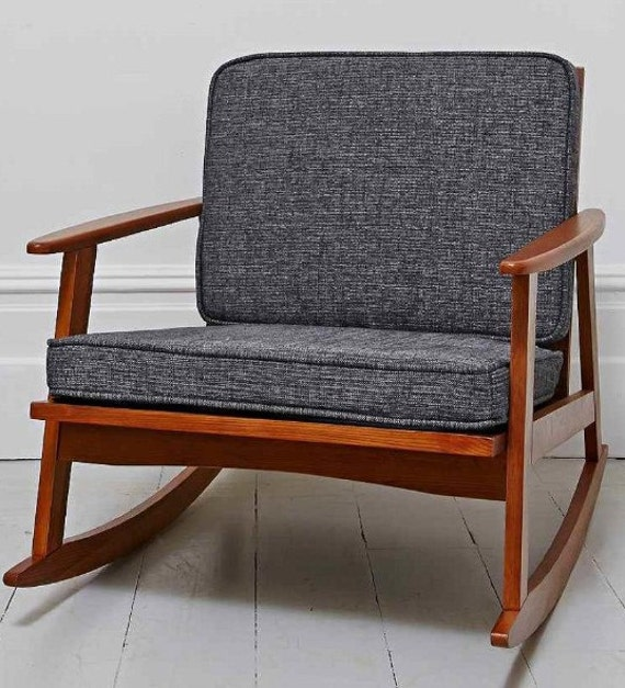 CUSTOM You Pick the size Mid Century Modern Chair Cushions – Etsy Chair Cushions