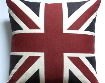 Union Jack Pillow covers Throw Pillow Decorative Pillow Cushions Zipper Pillow Gift