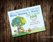 Berenstain Bear Party Invitation