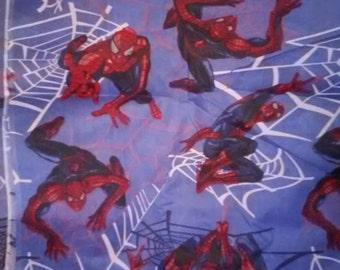 Marvel SPIDER MAN Blue Fabric