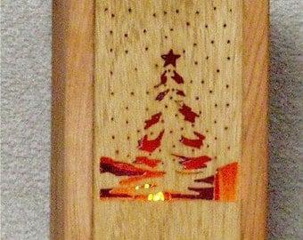 Christmas Tree Nite Light & Panel