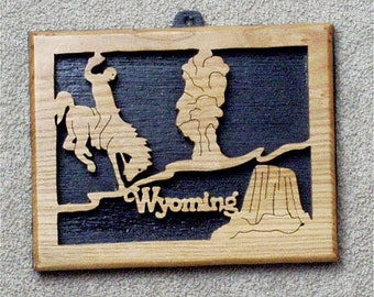 Wyoming State Plaque