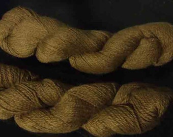 Clancey's 100% Suri Dark Fawn 2 Ply Sport Weight Yarn