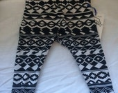 Infant size tribal leggings size 9-12 mth