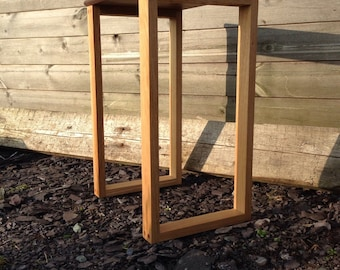 mixed side table