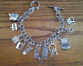 Realtors charm bracelet