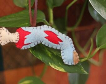 Zombie Finger Ornament