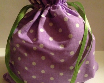 Eco Friendly Fabric (Cloth) Reusable Gift Bag (size SMALL)